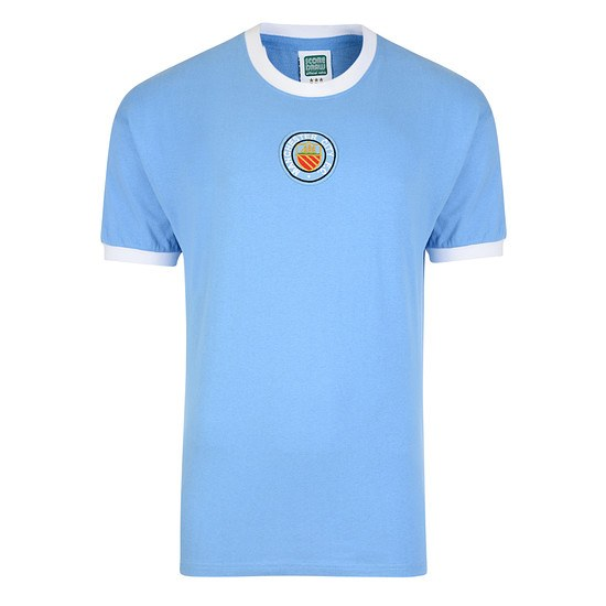 Scoredraw Manchester City Retro Trikot 1970