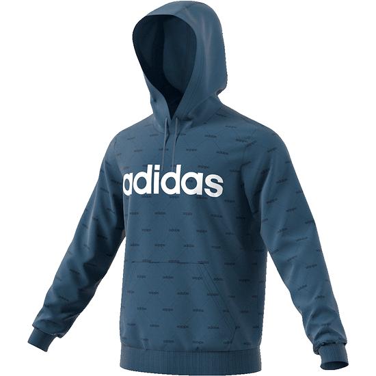Adidas Sweatshirt mit Kapuze, blau, Größe L gut erhalten