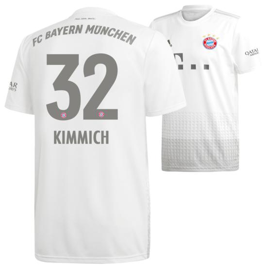 Adidas FC Bayern München Auswärts Trikot KIMMICH 2019/2020