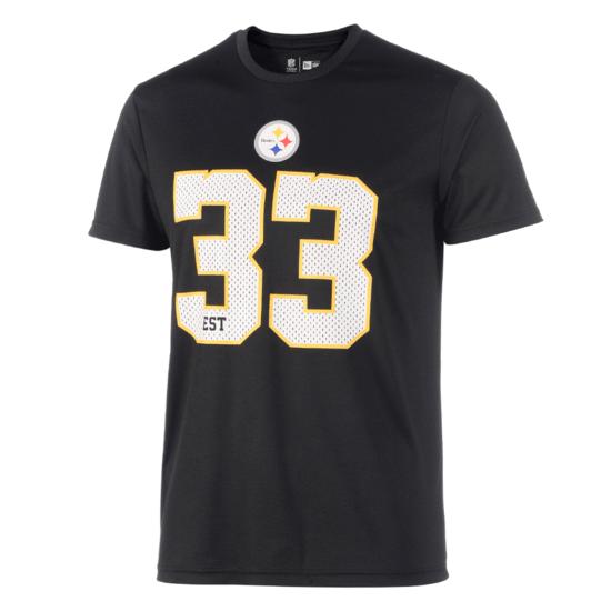 New Era Pittsburgh Steelers T-Shirt Supporters II schwarz