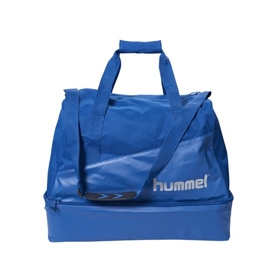 hummel Fußballtasche Authentic Charge blau