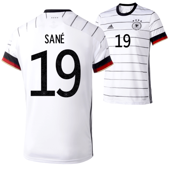 Adidas Deutschland EM 2021 DFB Trikot Heim SANÉ