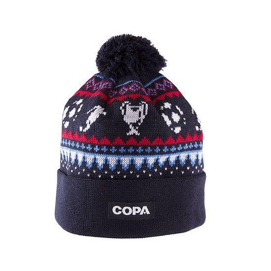 Copa Beanie Nordic Knit blau/rot/weiß