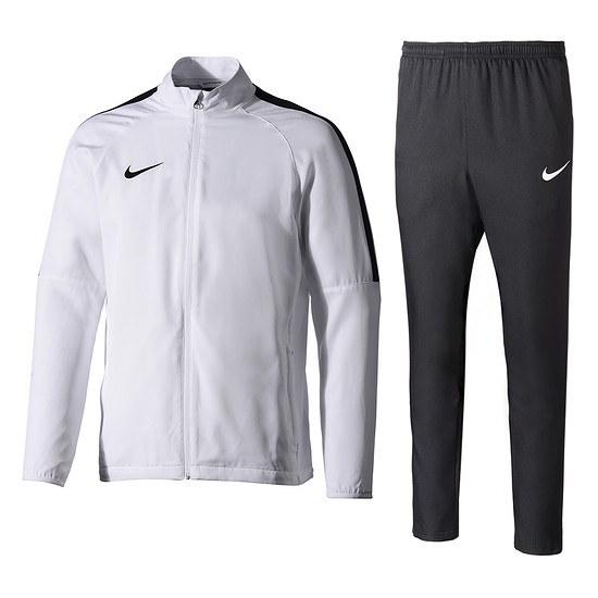 Nike Trainingsanzug Academy 18 Weiß/Schwarz
