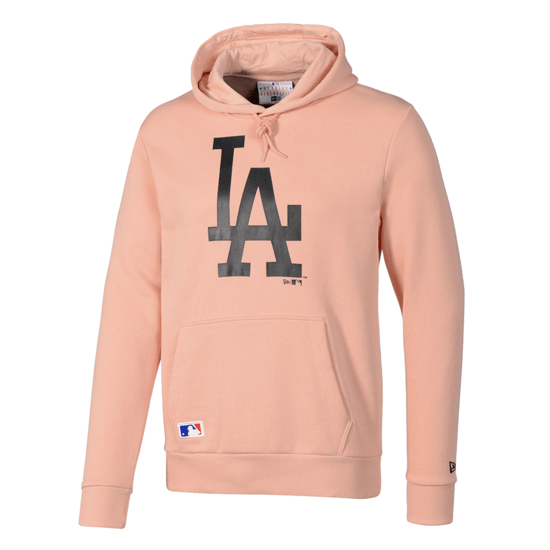 New Era Los Angeles Dodgers Hoodie Seasonal Team Logo lachs