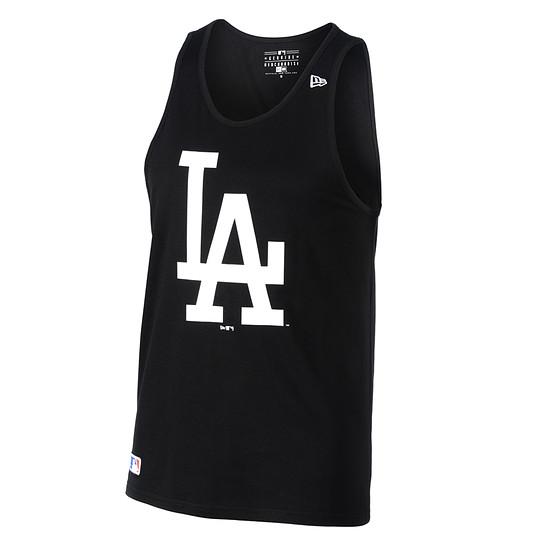 New Era Los Angeles Dodgers Tanktop Team Logo schwarz