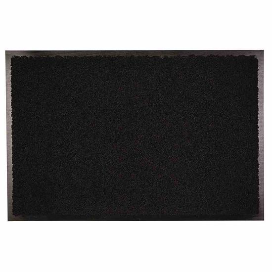 eco+mat Fußmatte Zanzibar 90 x 150 cm schwarz