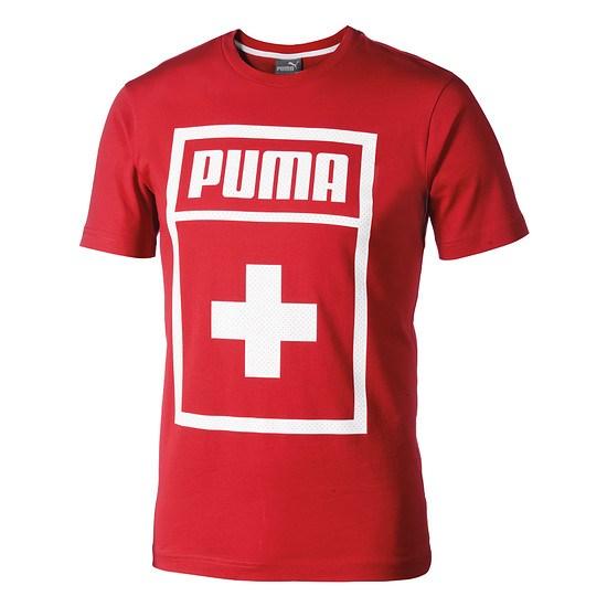 Puma T-Shirt Schweiz Big Print