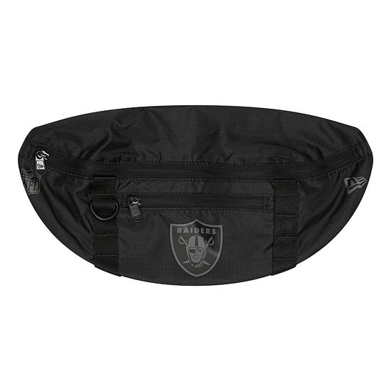 New Era Oakland Raiders Hüfttasche Light schwarz