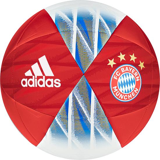 Adidas FC Bayern München Ball 2019/2020 Rot