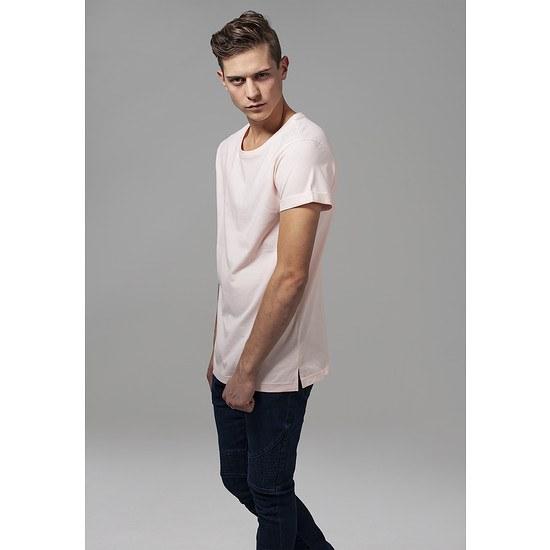 URBAN CLASSICS T-Shirt TurnUp pink
