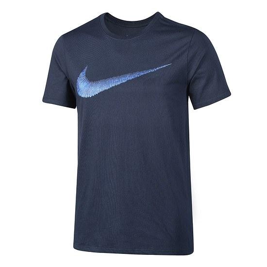 Nike Swoosh T-Shirt Dunkelblau/Royal