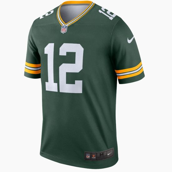 Nike Green Bay Packers Trikot Heim Legend Rodgers grün