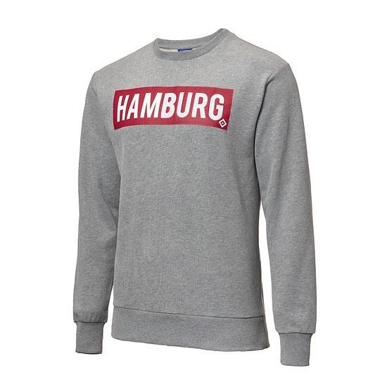 Hamburger SV Sweatshirt Sverre Grau