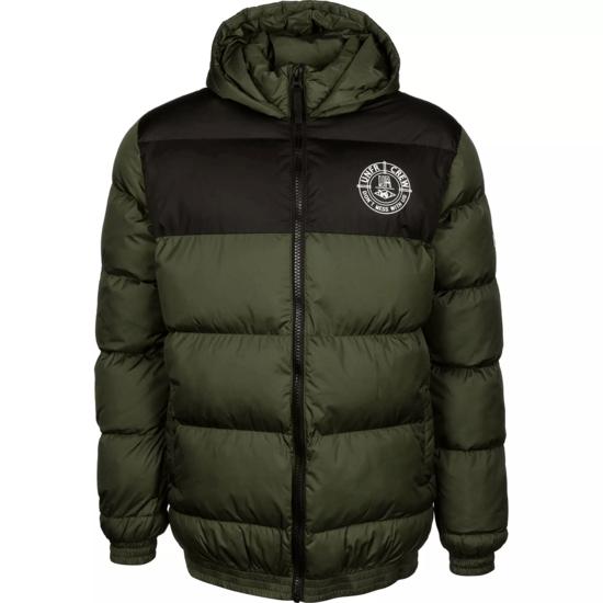 Unfair Athletics Winterjacke DMWU Puffer grün/schwarz