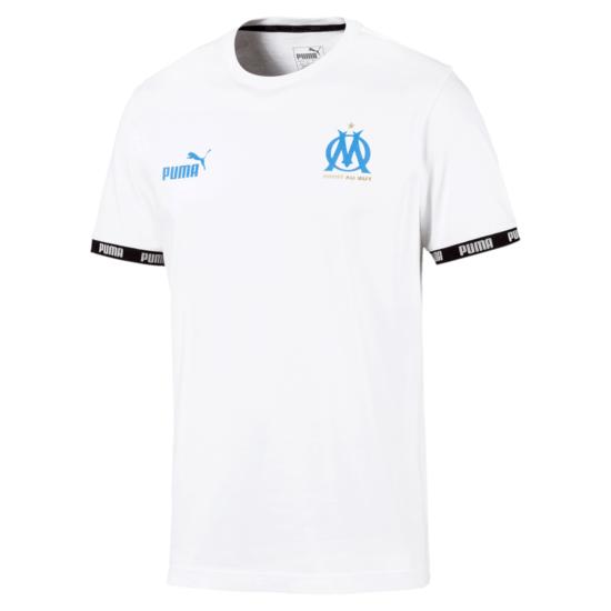 Puma Olympique Marseille Trainingsshirt Basic Weiß