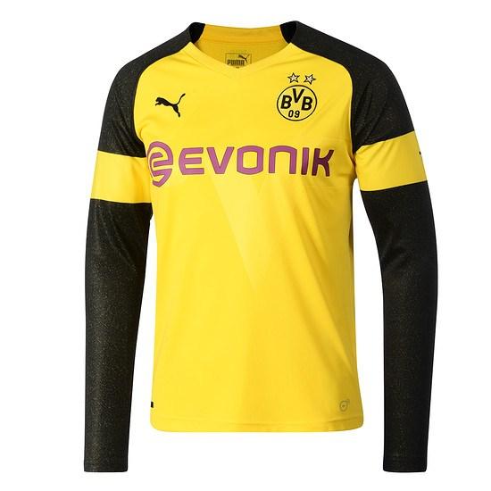Puma Borussia Dortmund Trikot 2018/2019 Kinder Langarm Heim
