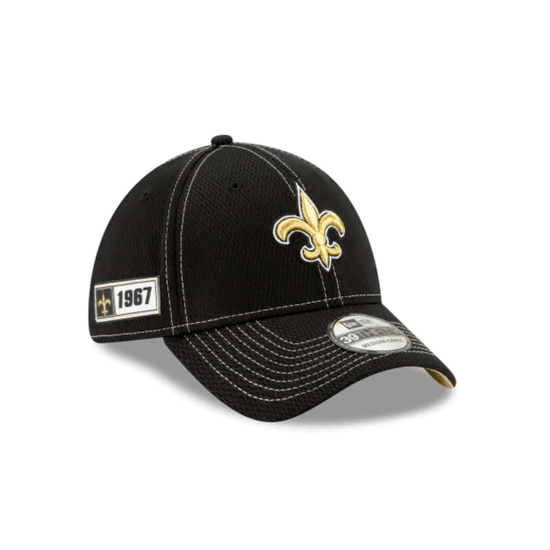 New Era New Orleans Saints Cap On Field 39THIRTY schwarz