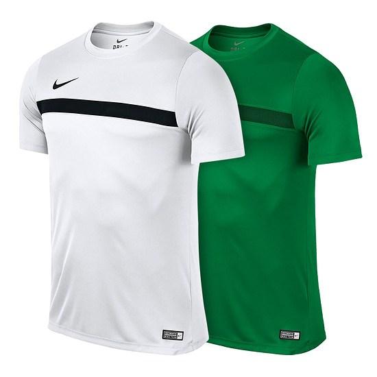 Nike Trainingsshirts Academy 2er Pack weiß/grün