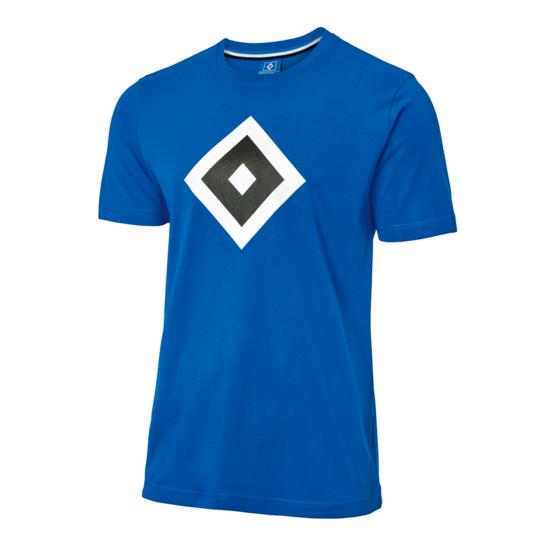 Hamburger SV T-Shirt HSV Raute Kinder Blau