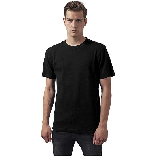 URBAN CLASSICS T-Shirt Thermal schwarz