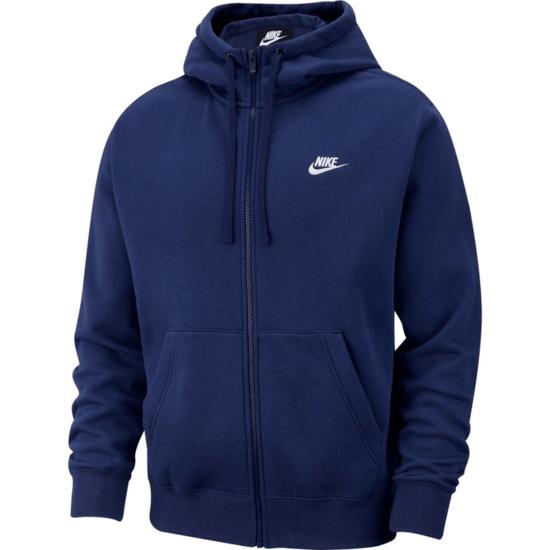 Nike Kapuzensweatjacke Sportswear Club Fleece Blau