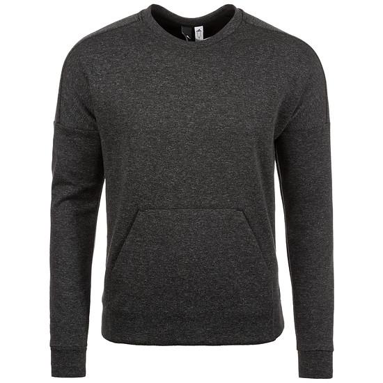 Adidas Sweatshirt ID Stadium Crew dunkelgrau/weiß