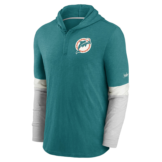 Nike Miami Dolphins Longsleeve Mascot Historic grün