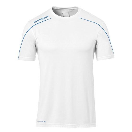 uhlsport Trainingsshirt Stream 22 weiß/azur
