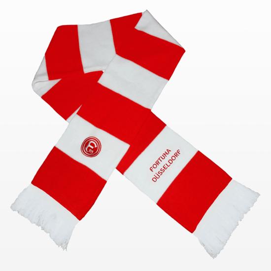 "Fortuna Düsseldorf Schal ""BLOCK"" Rot"