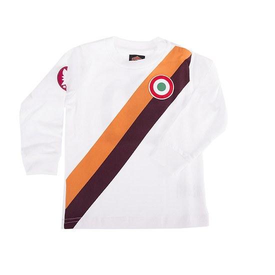 Copa AS Rom My First Football Long Sleeve Away Shirt
