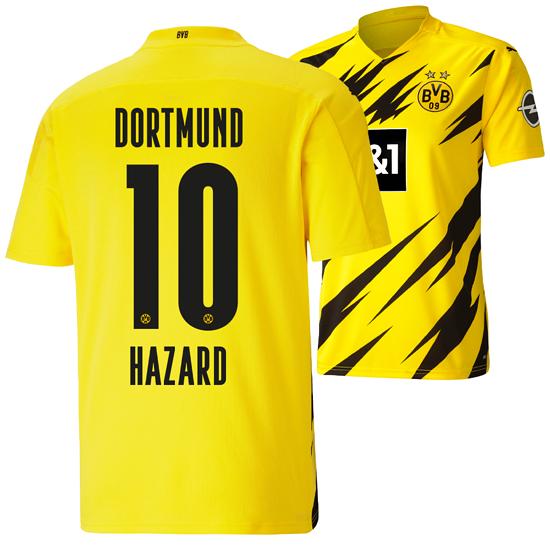 Puma Borussia Dortmund Heim Trikot HAZARD 2020/2021 Kinder