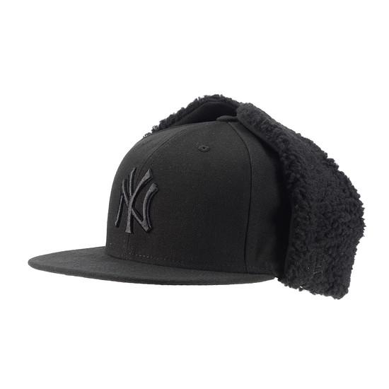 New Era New York Yankees Cap Dogear schwarz