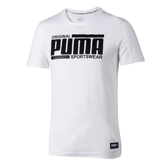 Puma T-Shirt Athletics weiß