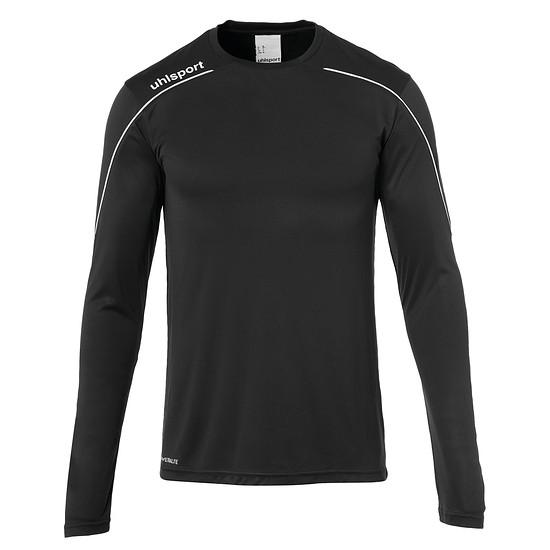 uhlsport Trainingsshirt Langarm Stream 22 schwarz/weiß