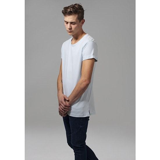 URBAN CLASSICS T-Shirt TurnUp babyblau