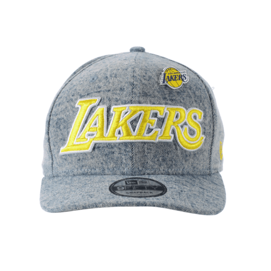 New Era Los Angeles Lakers Cap Denim 9FIFTY schwarz