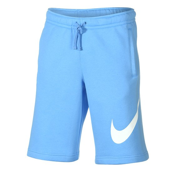 Nike Shorts Sportswear Swoosh blau/weiß