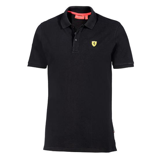 Ferrari Polo-Shirt CLASSIC SF schwarz