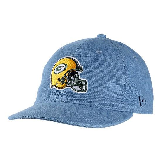 New Era Green Bay Packers Cap Helmet 9FIFTY blau