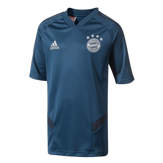 Adidas FC Bayern München Trainingsshirt 2019/2020 Kinder Blau