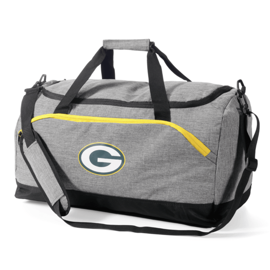 Forever Collectibles Green Bay Packers Duffel Bag grau
