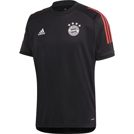 Adidas FC Bayern München Trainingsshirt 2020/2021 Schwarz