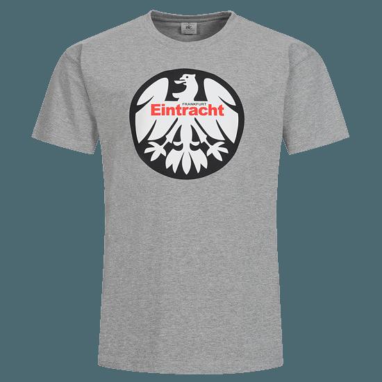 Eintracht Frankfurt T-Shirt 1980 Kinder hellgrau