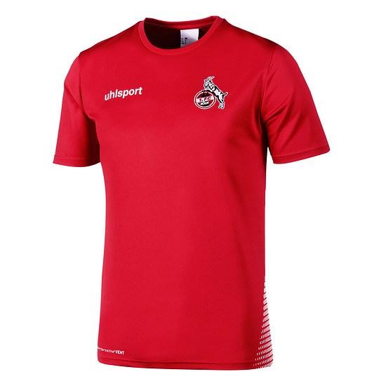 uhlsport 1. FC Köln Trainingsshirt rot