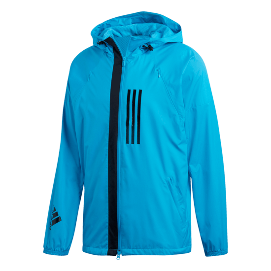 Adidas Windbreaker Fleece ID blau