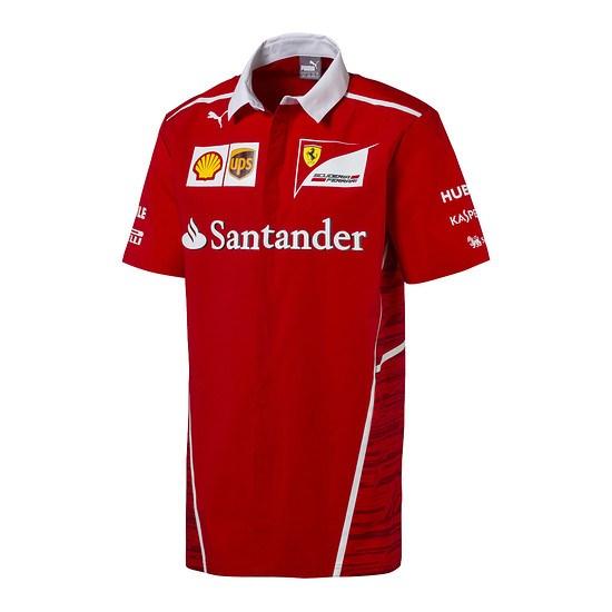 Ferrari Team Hemd Replica rot
