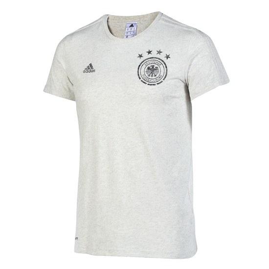 Adidas DFB Deutschland T-Shirt BEST Weiß-Melange