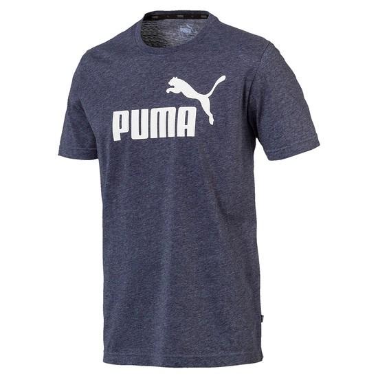 Puma T-Shirt ESS + Blau
