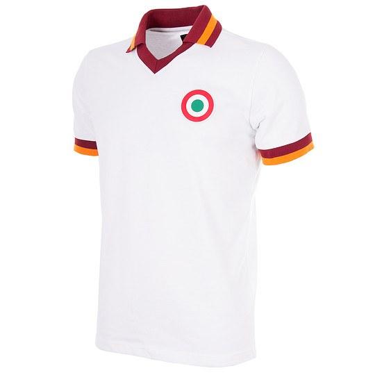 Copa AS Rom 1980/81 Short Sleeve Away Retro Shirt